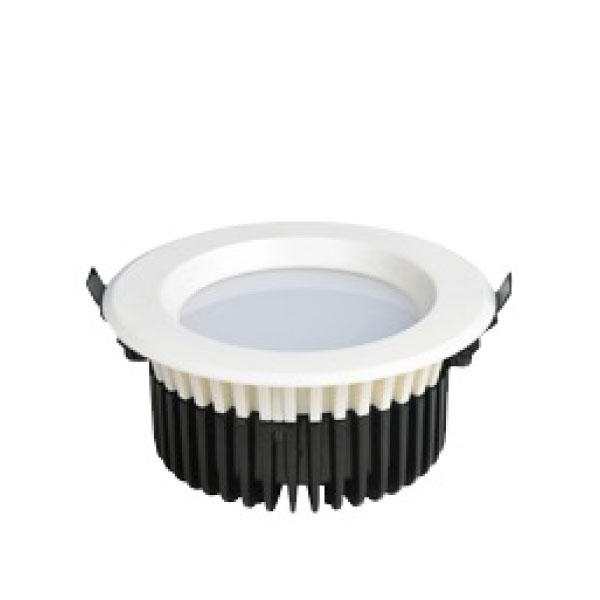 "LED Downlight White Recessed (12W - 4"" - 900lm)Commercial 125mm cutout"