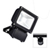 70W LED Eco Flood Light - IP65 c/w PIR Occupancy Sensor - Direct Replacement for 150W SON / 480W Tungsten Halogen