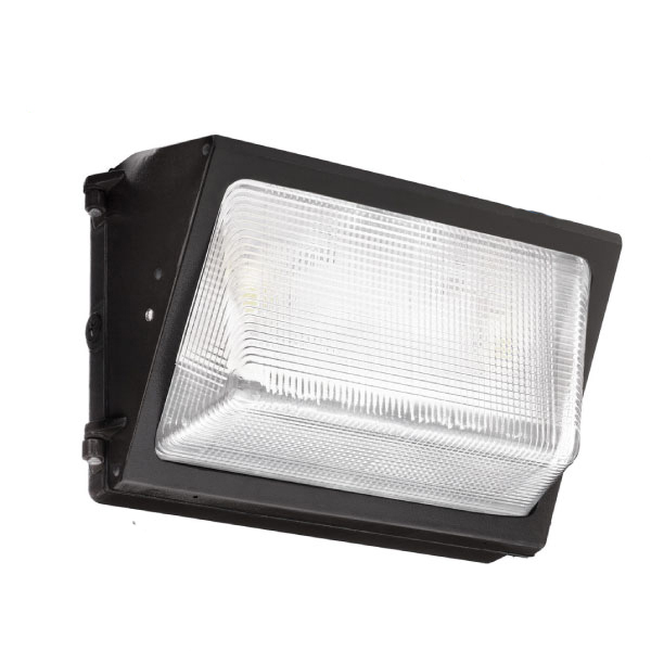 LED Wallpack - 40W 4,500lm - Die-cast aluminium Body with 5mm Glass - Replacement for 70W MHL Metal Halide Replacements