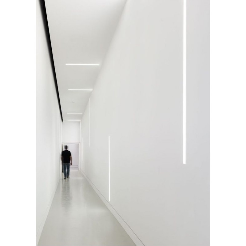 Plaster In Recessed Slim Led Profile For Led Strip