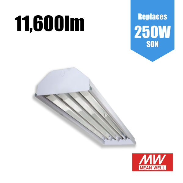 Linear LED Highbay / Lowbay Industrial Light - 90W 10,700lm [119lm/w]
