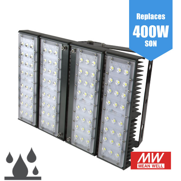 High Powered Industrial LED Flood Light 180W/24,600lm IP65 floodlight