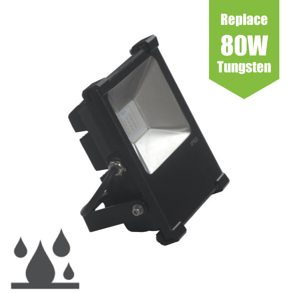 20W Ultra High performance IP65 LED Nichia® Flood Light - Direct Replacement for 180W Tungsten Halogen