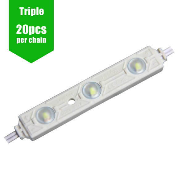 LED Signage Module [TRIPLE] 12V 0.72W/Module - IP66 160˚ 20 per pack)