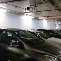 IP65 LED Non-corrosive fittings - Ideal for Car Parking Applications
