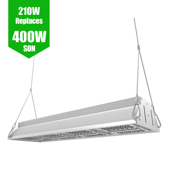 LED Aisle Luminaire - High/Lowbay 210W / 400W SON