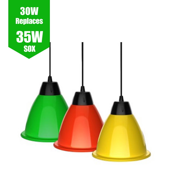 LED Pendant Light - Colour Series 30W / 35W Sox