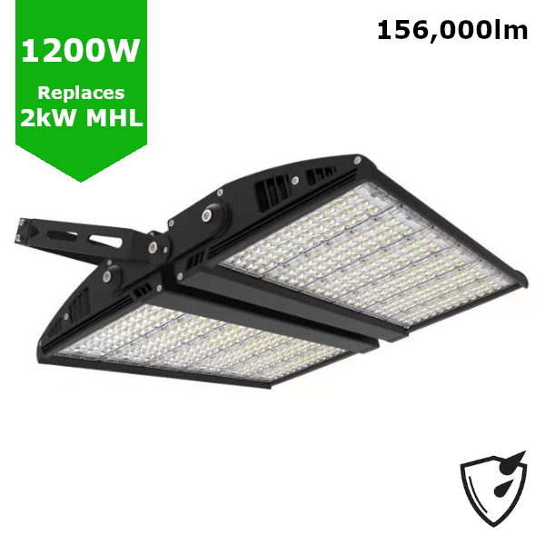 1200W LED High Mast Sports Pitch Tennis Court Stadium Arena Light