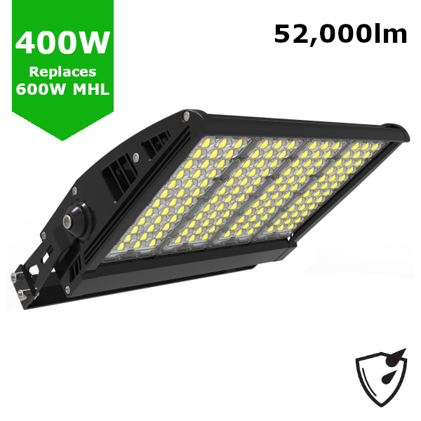 400W LED High Mast Sports Pitch Tennis Court Stadium Arena Light