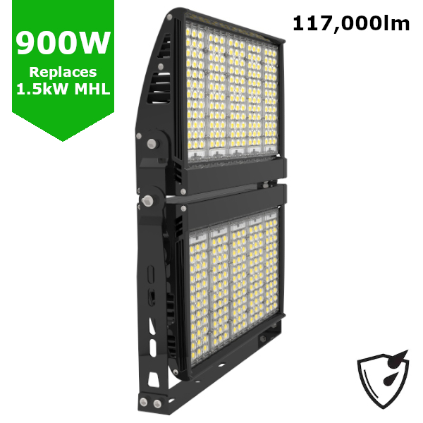 900W LED High Mast Sports Pitch Tennis Court Stadium Arena Light