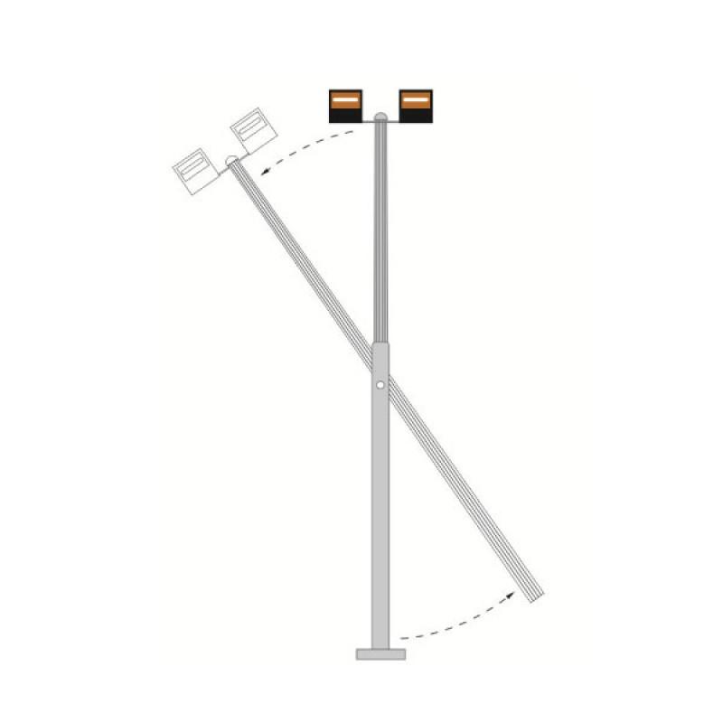 Raise Amp Lower Rope For Mid Hinged Lighting Column Max 25kg