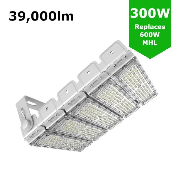 LED Sports Flood Light / Horse Arena Lighting 300W/39,000lm