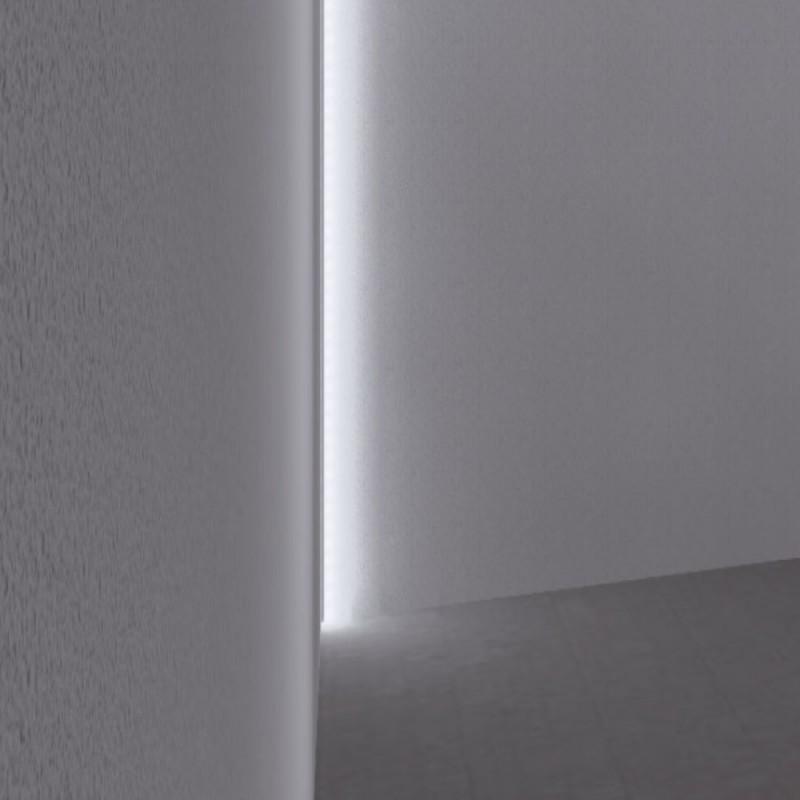 Recessed Tile Internal Corner Led Profile For Led Strip Aluminium Led Channel C W Diffuser