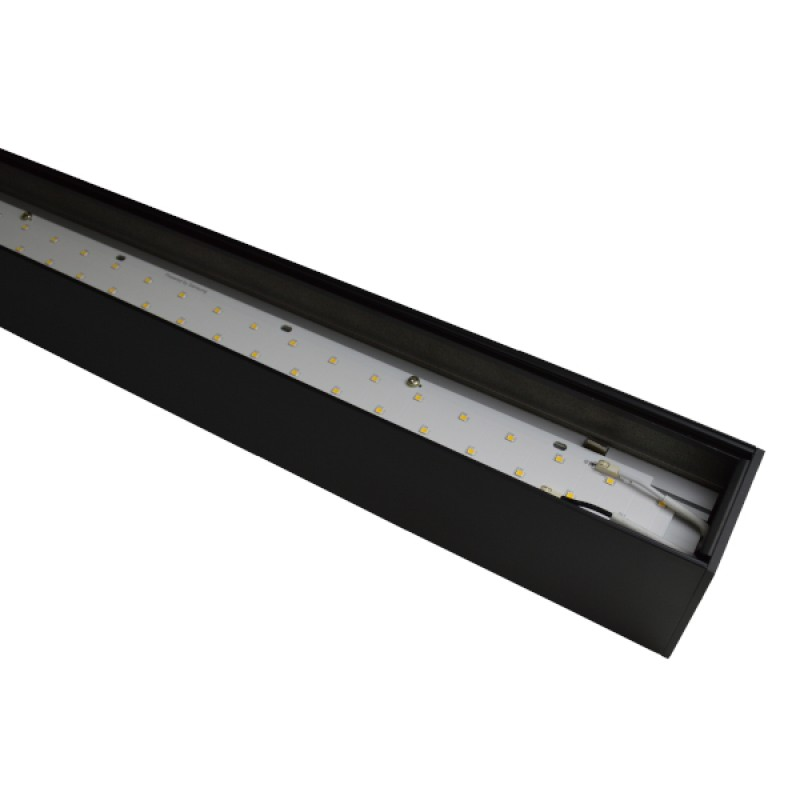 50 Indirect Lighting Design Ideas 2018: Suspended Linear LED Direct Indirect Light 1200mm/4ft