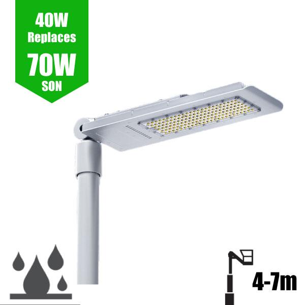 LED Street Lights 40W - 5m Column Street Lighting Fixture