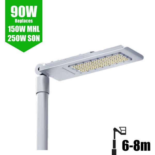 LED Street Lights 90W - 6-8m Column Street Lighting Fixture